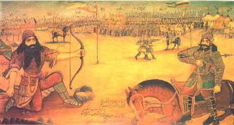دانلود تحقیق اصول نقاشی ایرانی